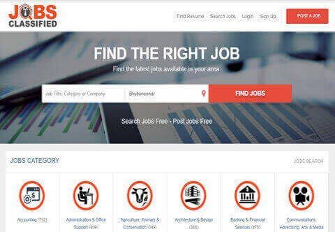 Jobs Clasified